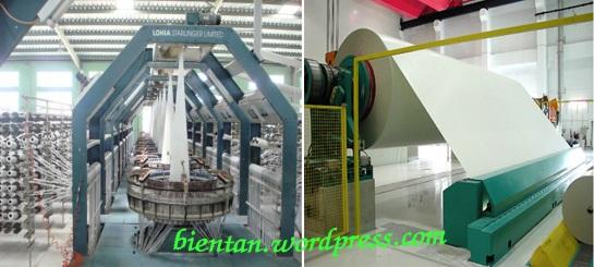 Giải pháp điều khiển ngành dệt, ngành giấy