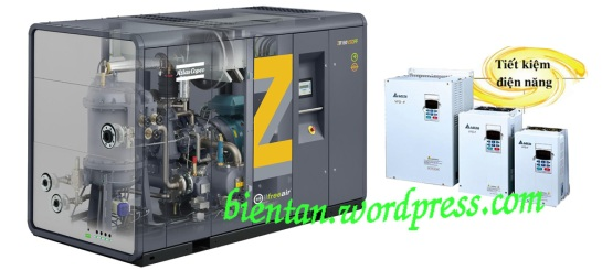 Giải pháp điều khiển, tiết kiệm điện cho máy nén khí