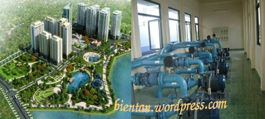 Hệ thống bơm nước cho toà nhà