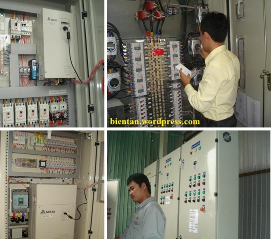 Tủ điều khiển máy nén khí