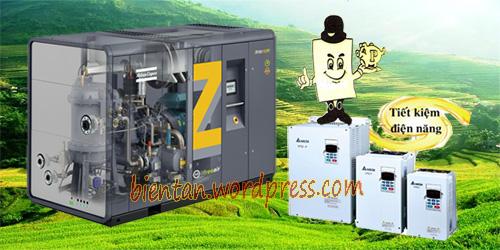 Lắp biến tần cho máy nén khí - Giải pháp tiết kiệm năng lượng hiệu quả cao