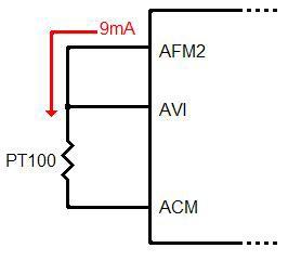 Sơ đồ kết nối cảm biến nhiệt độ vào biến tần