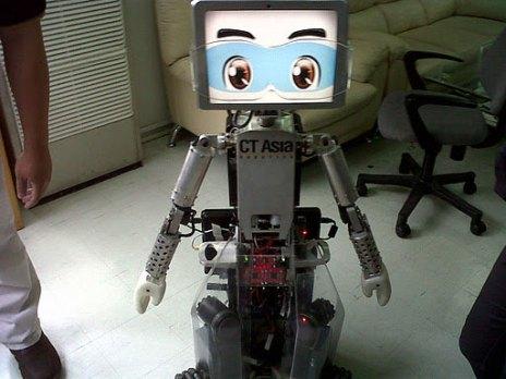 Robot chăm sóc người già, người tàn tật