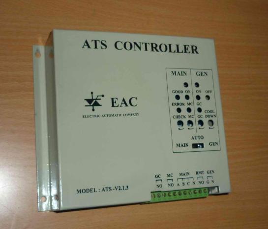 Vỏ của bo mạch ATS được thiết kế chắc chắn