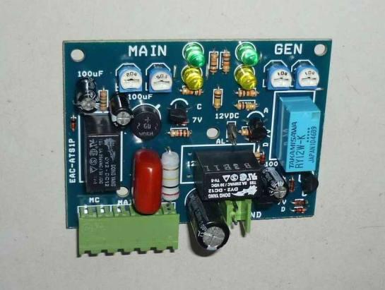 Bo mạch hệ thống chuyển đổi nguồn điện tự động 1 pha - ATS 1 pha